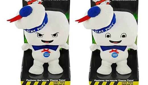 Singing Stay Puft plushies now available for pre-order