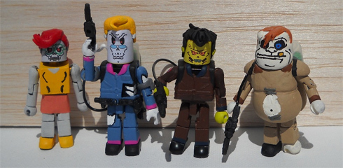 Custom Peoplebusters miniMates set