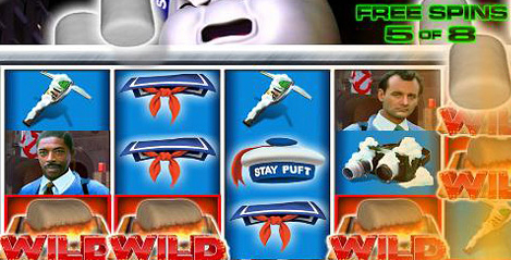 Official press release for IGT's Ghostbusters Slot Machine