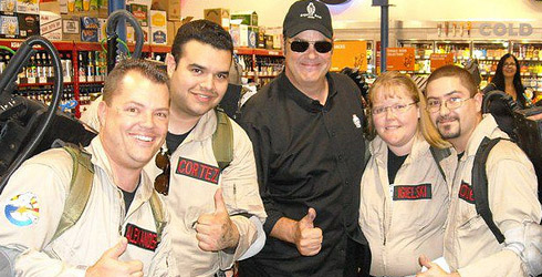 Recap of Aykroyd signing/Arizona Ghostbusters fundraiser