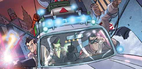 Tom Waltz updates us on IDW's Ghostbusters Monthly