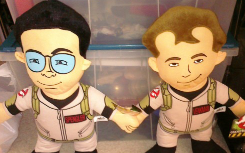 New Ghostbusters plush toys?