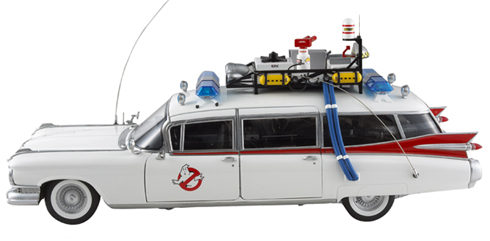 Hot Wheels release photos of 1:18 scale Ecto-1
