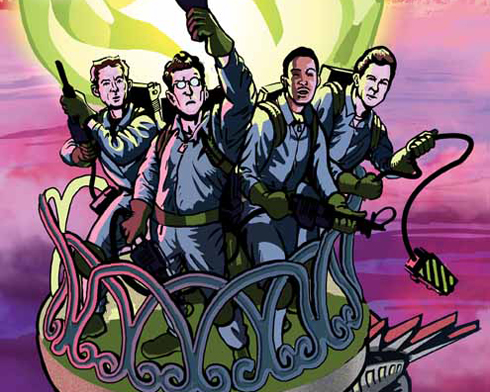 Preview two of IDW's upcoming Ghostbusters comics