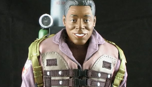 Pixel Dan's review of Mattel's 12″ Ghosbusters II figures
