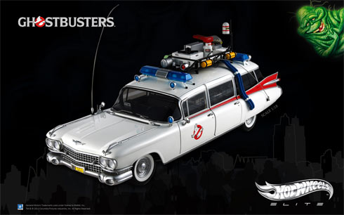 Hot Wheels Elite adds new Ecto-1 wallpaper