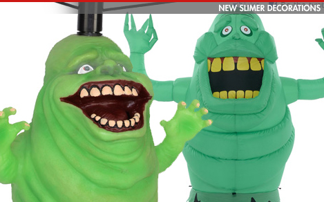 Preview of new Slimer decorations