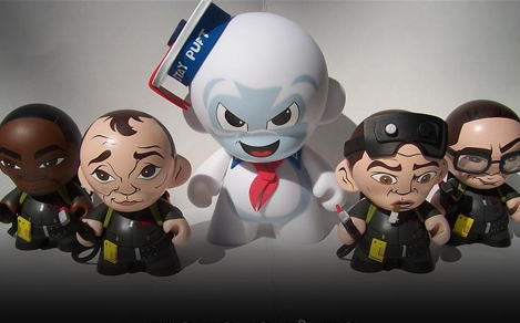 Custom Ghostbusters Munnies are too damn cute