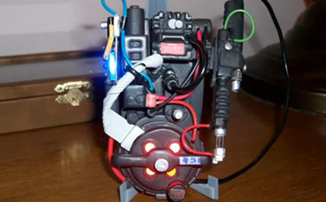 Miniature Proton Pack
