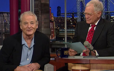 "Murray talks Ghostbusters 3 on Letterman: ""We'll try again"""
