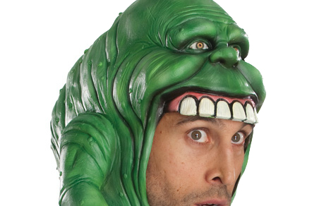 Review: Slimer Headpiece from Ruby's Costumes