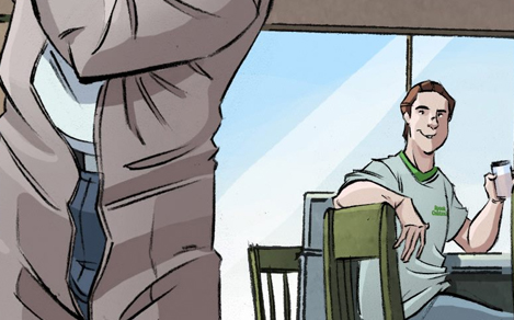 Spook Central's Paul Rudoff appears in Ghostbusters #11 from IDW