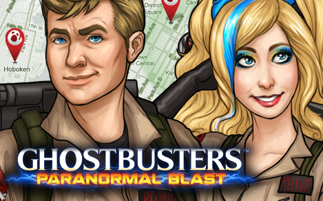 Ghostbusters Paranormal Blast now available on iOS devices