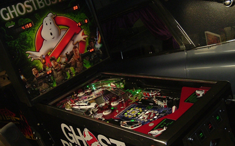 Fan Creation: Ghostbusters Pinball Machine