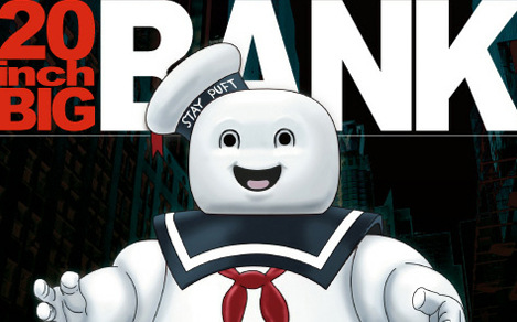 20″ Stay Puft bank available for pre-order + new item revealed