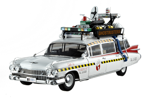 Hot Wheels release shots of upcoming 1:18 scale Ecto 1A