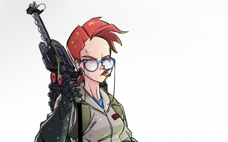 New shot of Janine from IDW's Ghostbusters