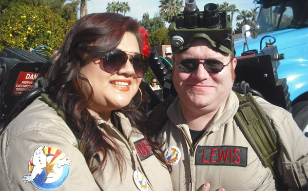 Arizona Ghostbusters attend the Fiesta Bowl Parade