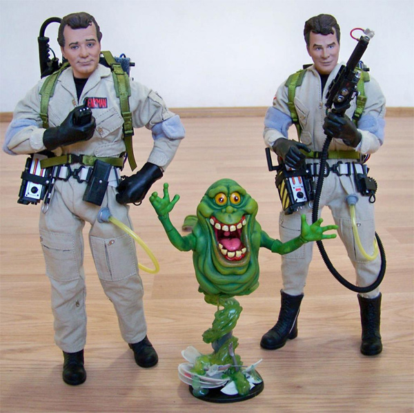 Fan Creation: Custom Slimer + proton pack lighting