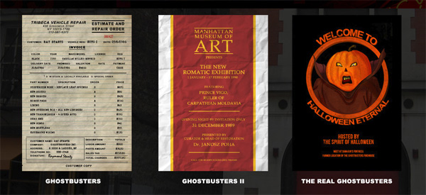 MASS HYSTERIA CARDS OFFERING GHOSTBUSTERS COLLECTION