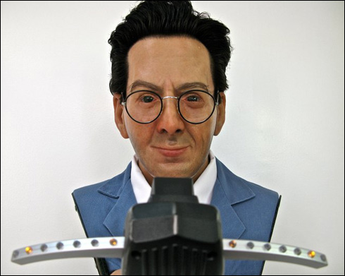 "Egon Spengler bust is ""ready to believe you!"""