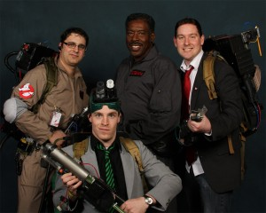 Cross the Streams meet up with Ernie Hudson at Wizard Con