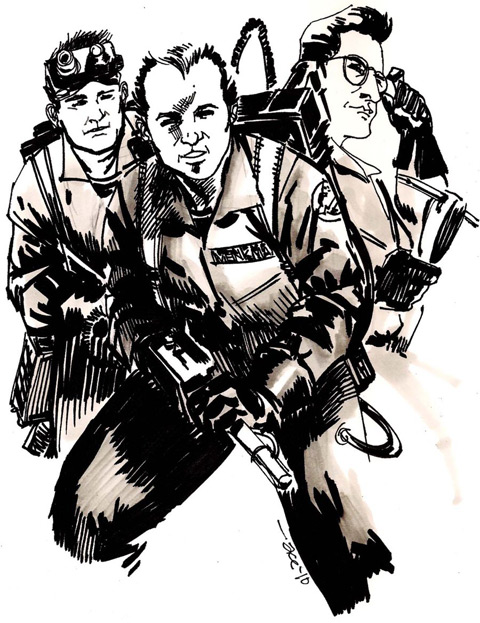 Fan art: Who ya' gonna call?