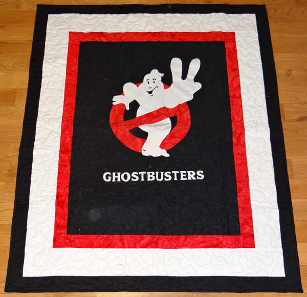 FAN CREATION: GHOSTBUSTERS 2 QUILT
