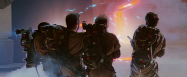 Screen grabs + comparison shots of Ghostbusters 4K Blu-ray