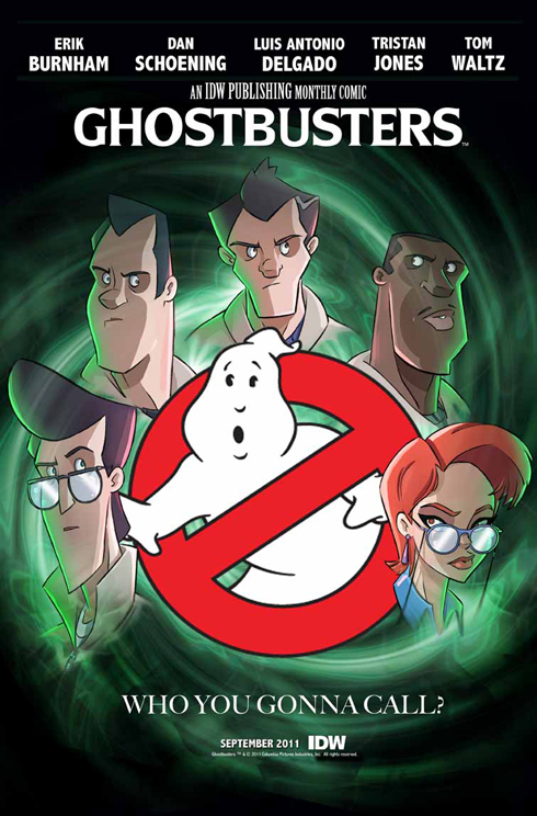 Preview of IDW's monthly Ghostbusters comic