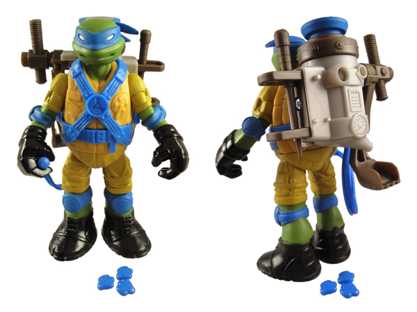 New Teenage Mutant Ninja Turtles toys inspired by Ghostbusters?