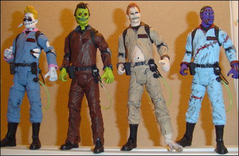 Custom 6″ Peoplebusters figures