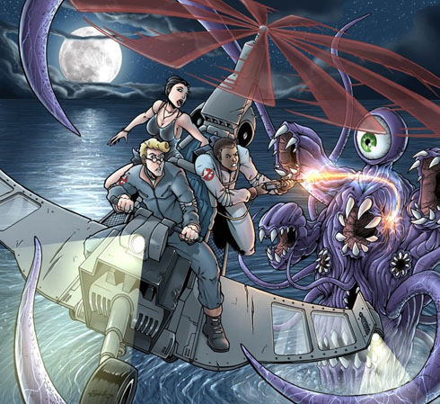 Fan art: Two new pieces of Real Ghostbusters art