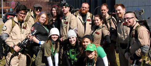 Steel City Ghostbusters take part in St. Patrick's Day Parade
