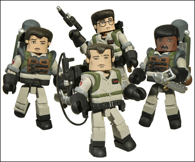 Exclusive Ghostbusters 2 Minimates at San Diego Comic Con