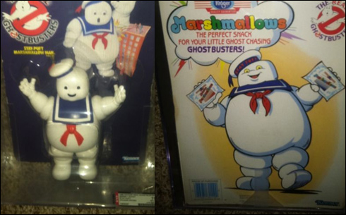 Kenner Stay Puft on eBay listed at $2,849.99…