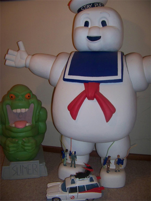We never thought we'd see a scale Stay Puft…