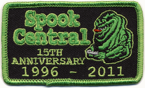 Limited Edition Spook Central 15th Anniversary Patch now available