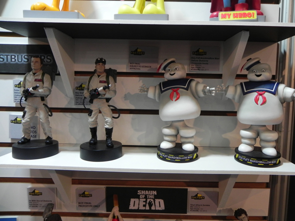 FACTORY ENTERTAINMENT REVEALS NEW GHOSTBUSTERS ITEMS
