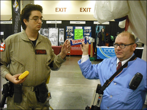 Recap of Arizona Ghostbusters at the Phoenix ComiCon
