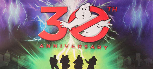 Sony shows of graphic for Ghostbusters 30th Anniversary