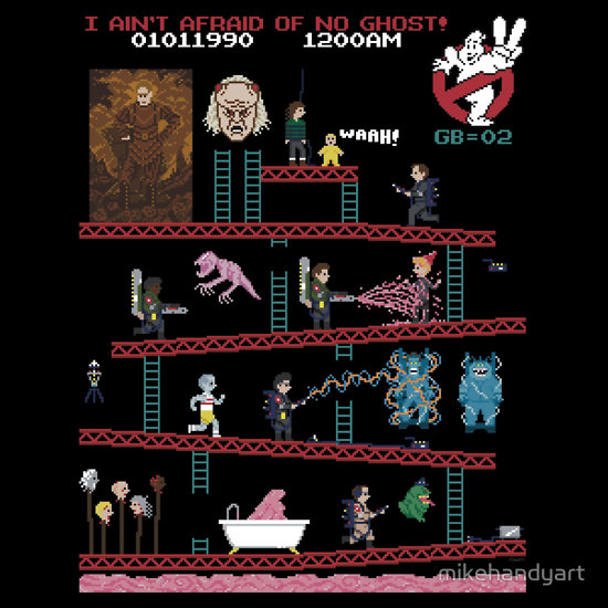 "TeeFury features ""Donkey Puft"" design + ""Vigo Kong"" available on Red Bubble"