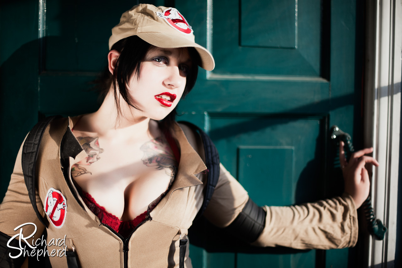 """Ghostbusters"" photoshoot featuring Dee La Beau"