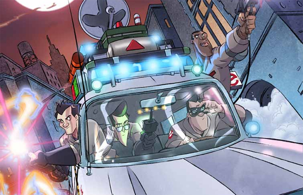 Comic News: Eight issue storyline planned for IDW's Ghostbusters