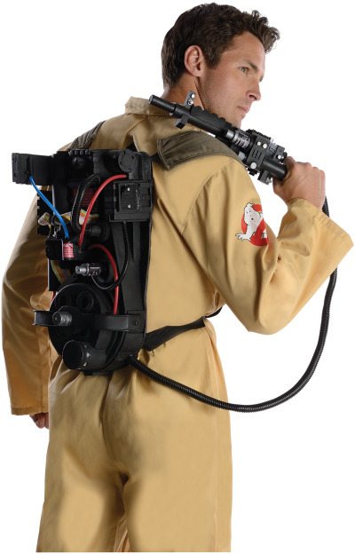 "Rubie's Costumes making a ""Deluxe"" Proton Pack"