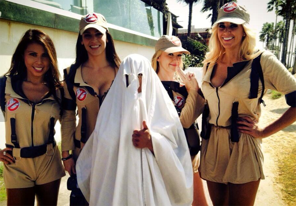 Video: Playboy/Maxim models dress up as Ghostbusters and run around Venice Beach