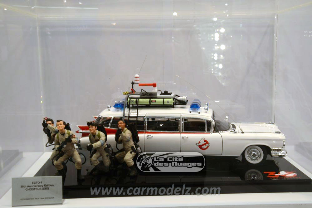Pictures released of Hot Wheels 30th Anniversary Ecto-1 with figures