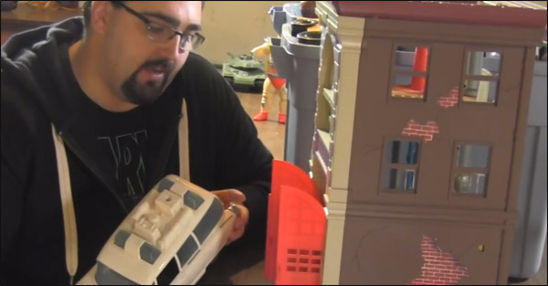 Real Ghostbusters toys featured on new YouTube series