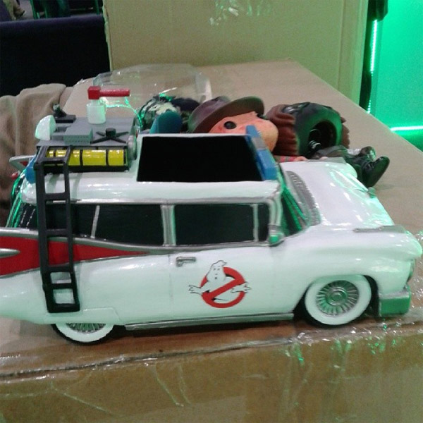 New York Toy Fair: First look at Funko's Ecto-1 for Pop vinyl figures