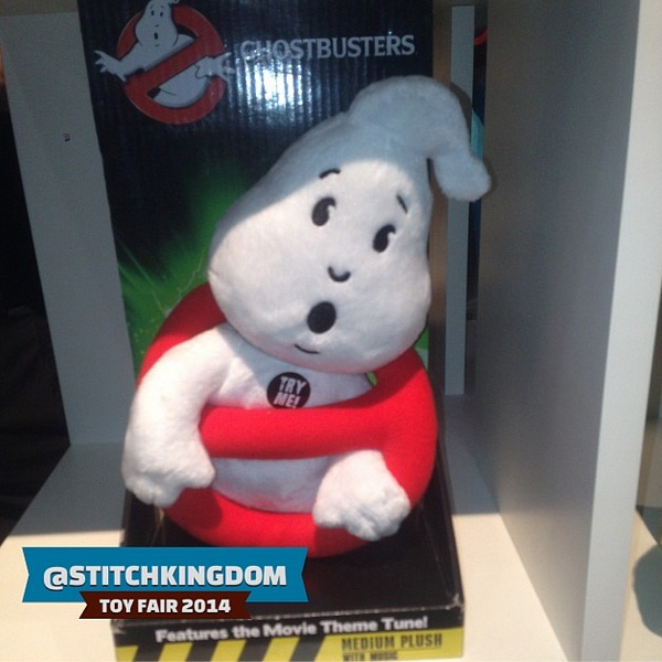 New York Toy Fair: Underground Toys show off No-Ghost plushy